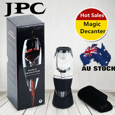 Magic Decanter Red Wine Aerator Sediment Filter Perfect Wine Aromas & Flavors