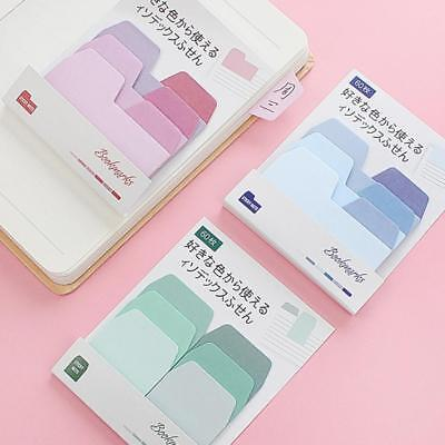 60 Pages Cute Sticker Bookmark Marker Flags Sticky Memo Pad Notes Stationery