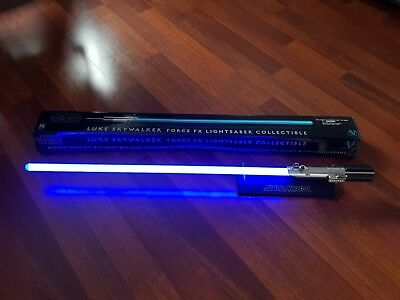 Master Replicas Luke Skywalker Ligthsaber Force FX 2007 ...Lichtschwert