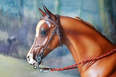 Western Bridle, brown, Breyer Stone Model Horse,Traditional 1:9 size