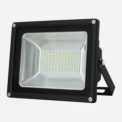 Led Flood Light Smd In Cool White Ip65 10W 30W 50W 80W 100W Smd Waterproof New