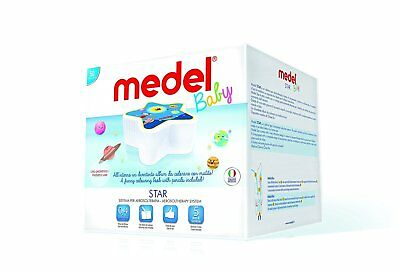 Medel STAR Nebuliser for Child | Nebulizer for Kids | Silent Design for Babies
