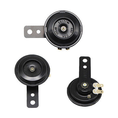 12V Super Loud Compact Electric Car Blast Tone Horn for Motorcycle Chopper