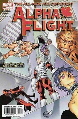 Alpha Flight (Vol 3) #   4 (VryFn Minus-) (VFN-) Marvel Comics AMERICAN