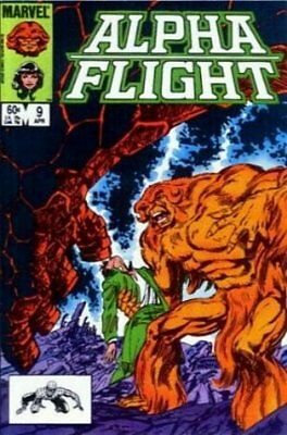 Alpha Flight (Vol 1) #   9 (VryFn Minus-) (VFN-) Marvel Comics AMERICAN