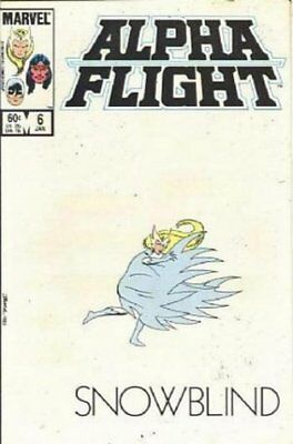 Alpha Flight (Vol 1) #   6 (VryFn Minus-) (VFN-) Marvel Comics AMERICAN