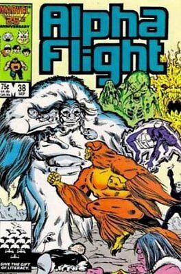 Alpha Flight (Vol 1) #  38 (NrMnt Minus-) (NM-) Marvel Comics AMERICAN