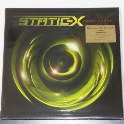 Static-X - Shadow Zone / LP (MOVLP1562) limited 500 green/yellow