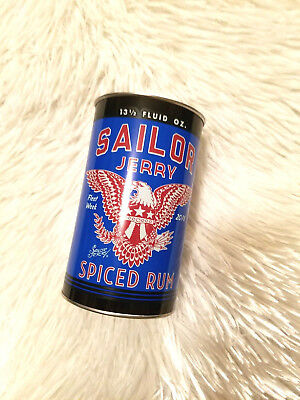 """FLEET WEEK 2016 """"Jerry The Sailor"""" Collins Spiced Rum Tribute Collectible Tin"""