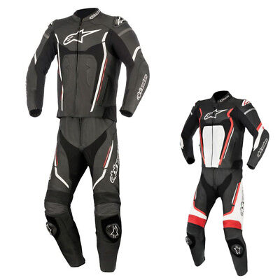 Alpinestars Racing Motegi v2 Mens Leather Motorcycle Track Moto Two Piece Suits