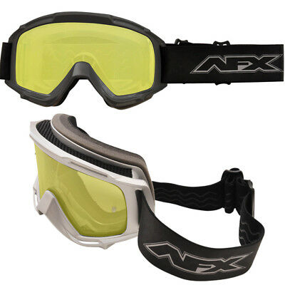 AFX Double Lens Mens Sled Anti Fog Snowmobile Goggles