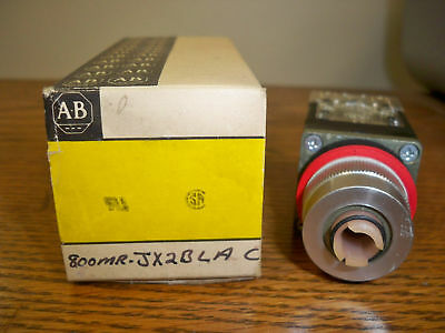 Allen Bradley 800MR-JX2BLA 3 Position Maintained Selector Switch (No Knob) New