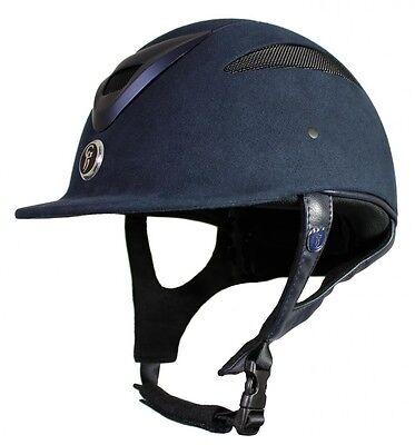 Gatehouse Conquest Riding Hat Helmet in Navy - Sizes 56 to 58