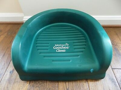 Baby Smart Cooshee Classic Green Toddler Booster Chair Seat