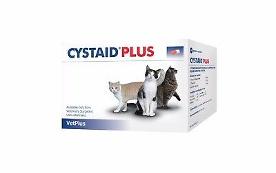 CYSTAID PLUS FOR CATS For Feline Cystitis x 30 Sprinkle Capsules - BEST PRICE!!