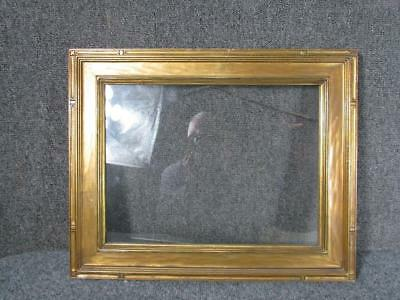 """ANTIQUE unsigned NEWCOMB MACKLIN HAND CARVED ARTS & CRAFTS FRAME, FITS 16X12 """""""