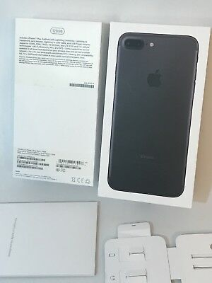 Apple iPhone 7 Plus Black 128GB EMPTY OEM BOX Original Box Only