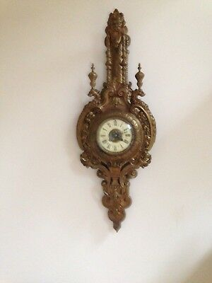 Antique French Japy Freres Wall Clock