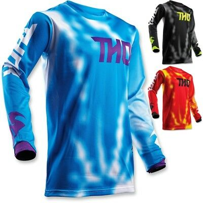 Thor MX Pulse Air Radiate Mens Off Road Dirt Bike ATV Motocross Jerseys