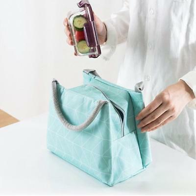 Oxford Foil Insulated Thermal Picnic Waterproof Lunch Bag for Kids Adult Z