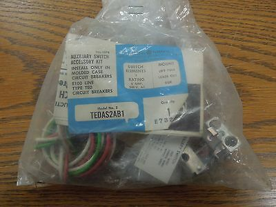 GE TEDAS2AB1 Auxiliary Switch Accessory Kit for GE TED Frame Breakers New