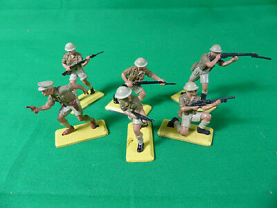 Britains Deetail British 8th Army Full Set Soldaten / Soldiers