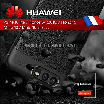 Etui Coque Housse Silicone shockproof Case cover Huawei 9 Honor 6x 8 9 Mate 10