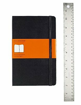 NEW Moleskine Classic Notebook Large Ruled Black Hard Cover 5 x 8.25 Notebooks
