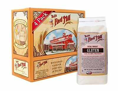 NEW Bobs Red Mill Gluten Flour 22 Ounce Packages Pack of 4 FREE SHIPPING