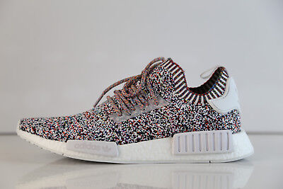 best authentic 1a1aa 7e37f ADIDAS NMD R1 PK Multicolor Rainbow Colour Static BW1126 8-13 boost rf pw  knit