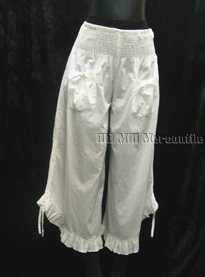 Bloomers Pantaloons Drawers Vintage Edwardian Victorian Style Size S-XL new