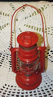 Vintage Meva 864 Czech Republic Oil / Kerosene Lamp Railroad Train Lantern