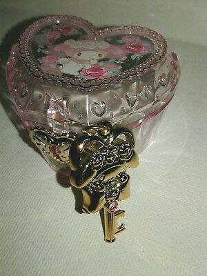 Sanrio My Melody Heart Box with Necklace Key