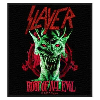 Slayer Aufnäher Patch / Aufnäher Sew-on Patch Root Of All Evil