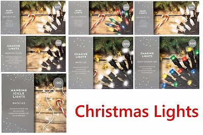 Party Lights LED Chasing Lights,Fairy Lights,Icicle 100/120/200/240 Decor
