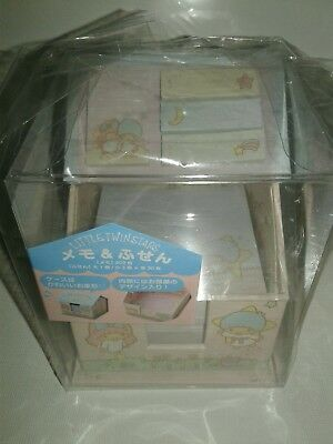 Sanrio Little Twin Stars House Shaped Memo Pad.  🌞US SELLER!! Get it faster!!