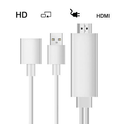 Lightning To HDMI /HDTV Cable AV Adapter Digital For Apple iPhone 7/7 Plus iPad