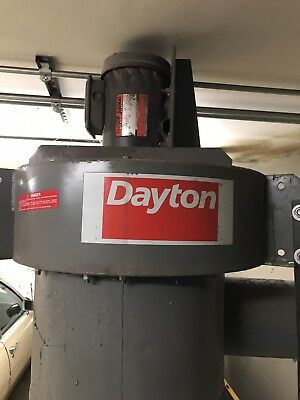 DAYTON  Central Dust Collector 3PHASE 3HP