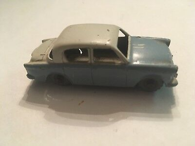 Rare Moko Lesney Matchbox No 43 Hillman Minx Two Tone GMW