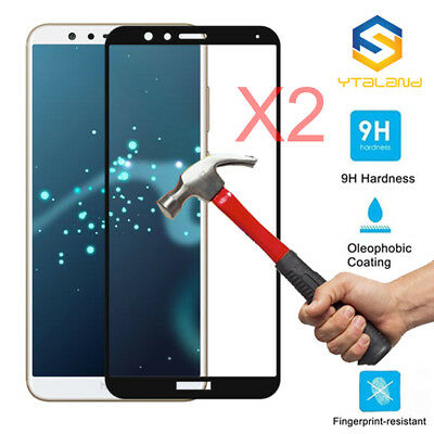 9H Full Covered Tempered Glass Film Screen Protector Cover For LG V20