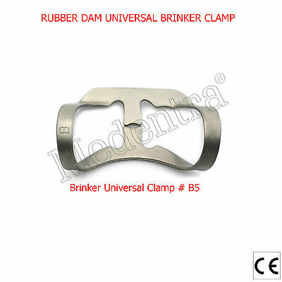 Universal Brinker Clamp B5 Endodontic Rubber Dam Clamps for Premolars MEDENTRA®