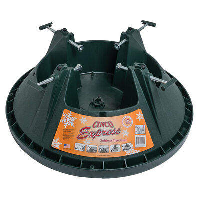 12 Ft Christmas Tree Stand Cinco Express  Heavy Duty Xmas Water Reservoir