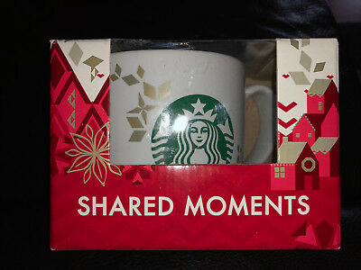 Starbucks Mug Christmas Weihnachten Momente 2013 Limited Ed**NEU**SKU**in Box