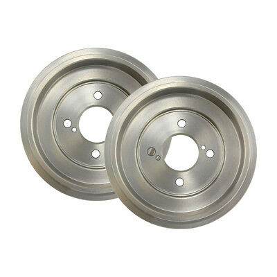 Centric Rear Brake Drums /& Brake Shoes 3PCS For Toyota Celica 1997