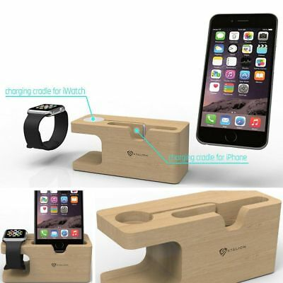 Charging Dock Stand Bracket For Apple Watch iWatch iPhone 7 Station Universal