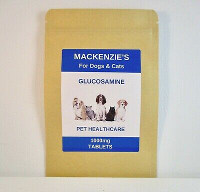 MACKENZIE'S GLUCOSAMINE JOINT CARE & ARTHRITIS RELIEF FOR DOGS & CATS 1000mg