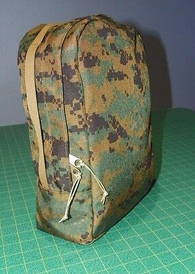 New Design! - Custom Digital Marpat Sustainment Accessory Pouches for USMC ILBE