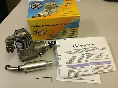 RCV 58 CD Four stroke model aircraft engine, looks new.