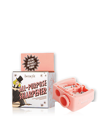NEW_Benefit Dual Double All Purpose Pencil Eyeliner Sharpener_Eyebrow_thick_thin