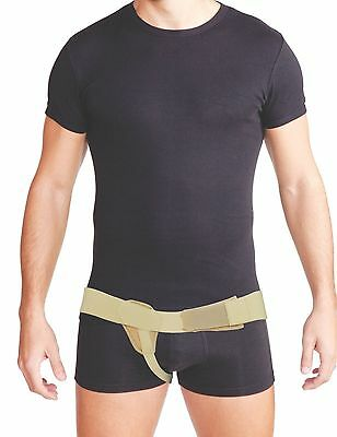 A110  Professional Single Sided Hernia Inguinal Belt Truss Pain Support NHS